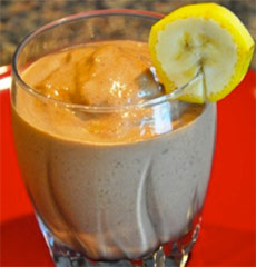 2 15 2011 Healthy Chocolate Shake