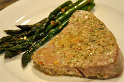 3 1 2011%20Newsletter Seasoned Ahi Steak