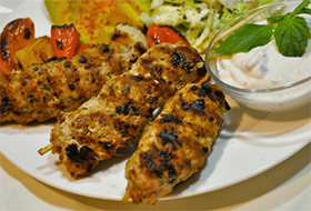 Easy Turkey Kebabs