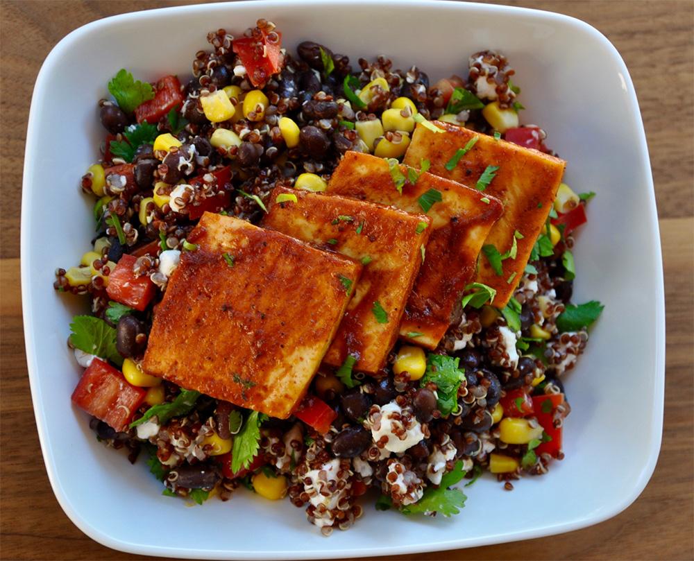 Fiesta Bowl with BBQ Tofu