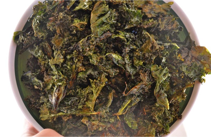 kale chip snack recipe to lose weight