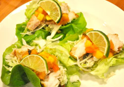Lettuce Wrapped Fish Tacos Stress Relief Food