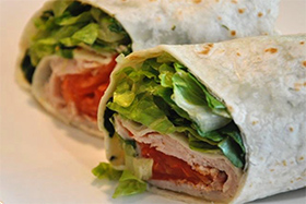 Easy Turkey Wrap