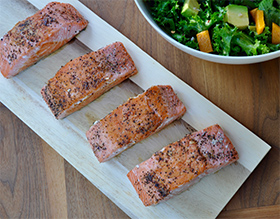 Buttery Brined Salmon Filets
