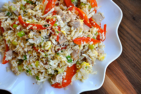Fat-Burning Fried Rice