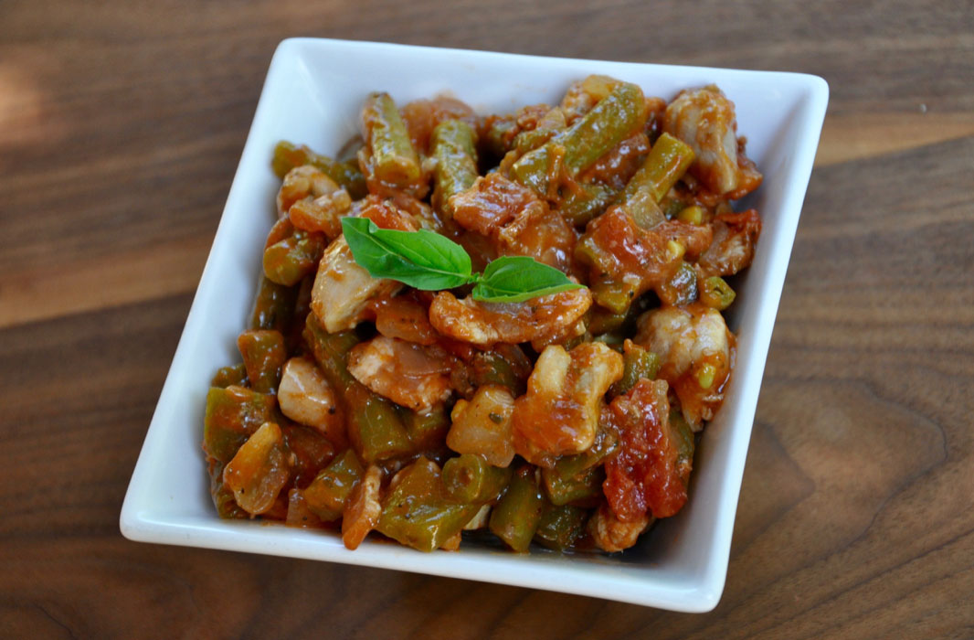 Chili-Roasted Salmon and Veggies